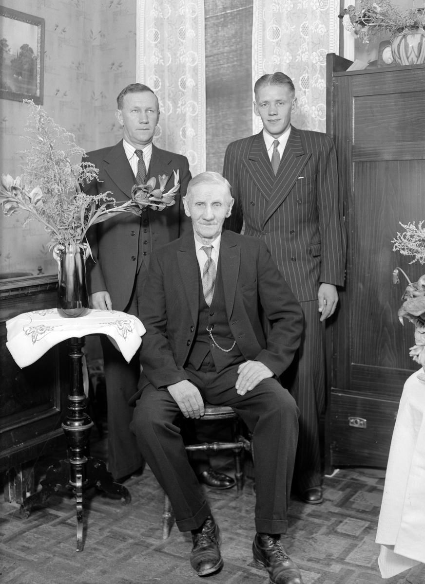 Hillbom, Bomhus, 85 år. Foto sept 1944.