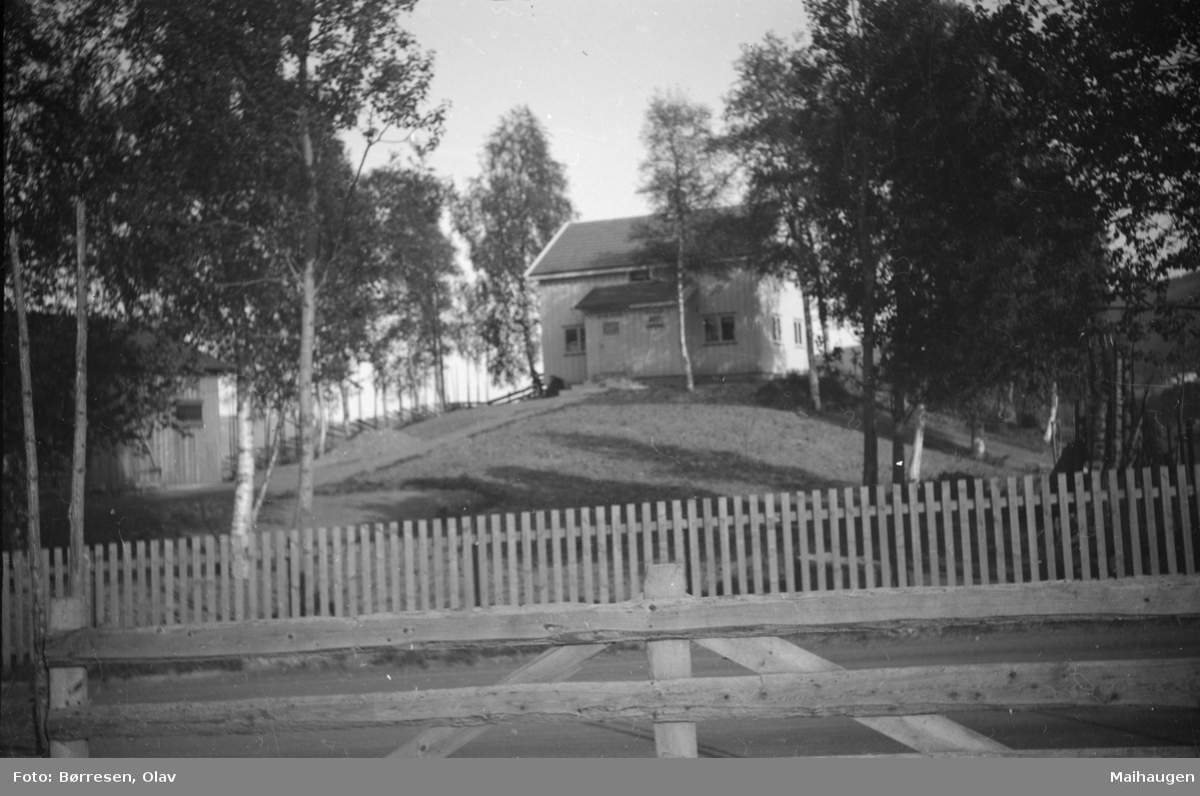 Heimly, hjemstedet til Oddvar og Oddlaug Rundsveen, i Vestringsvegen 210, Segalstad Bru