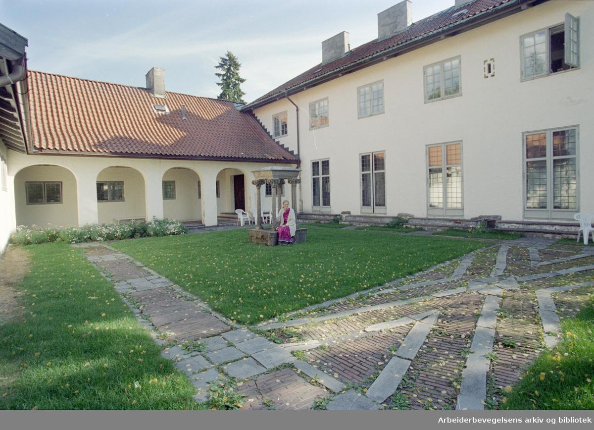 Elsero, arkitekt Arnstein Arnebergs kjente villa, tegnet for familien Mustad i 1923. 24. september 1996