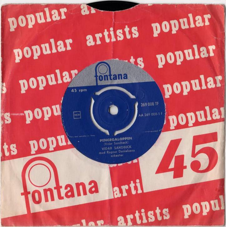 Vidar Sandbeck single nr. 1