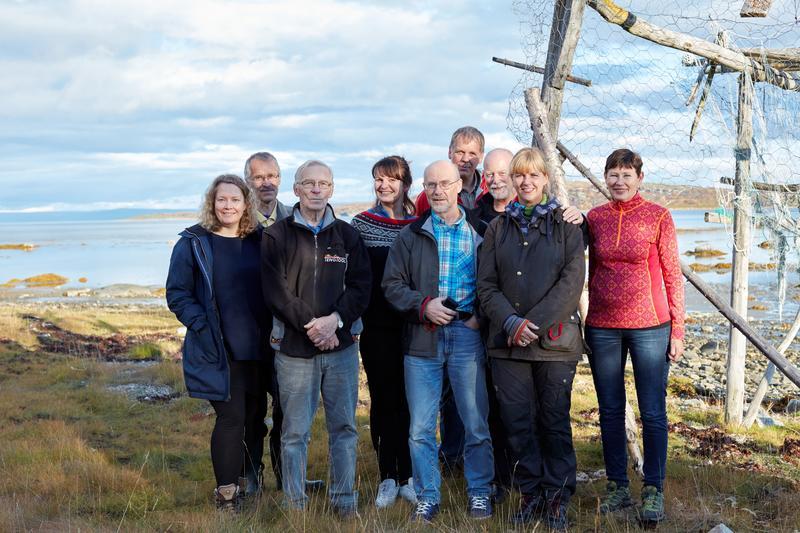 Fra feltarbeid i Ytre Billefjord 2015.