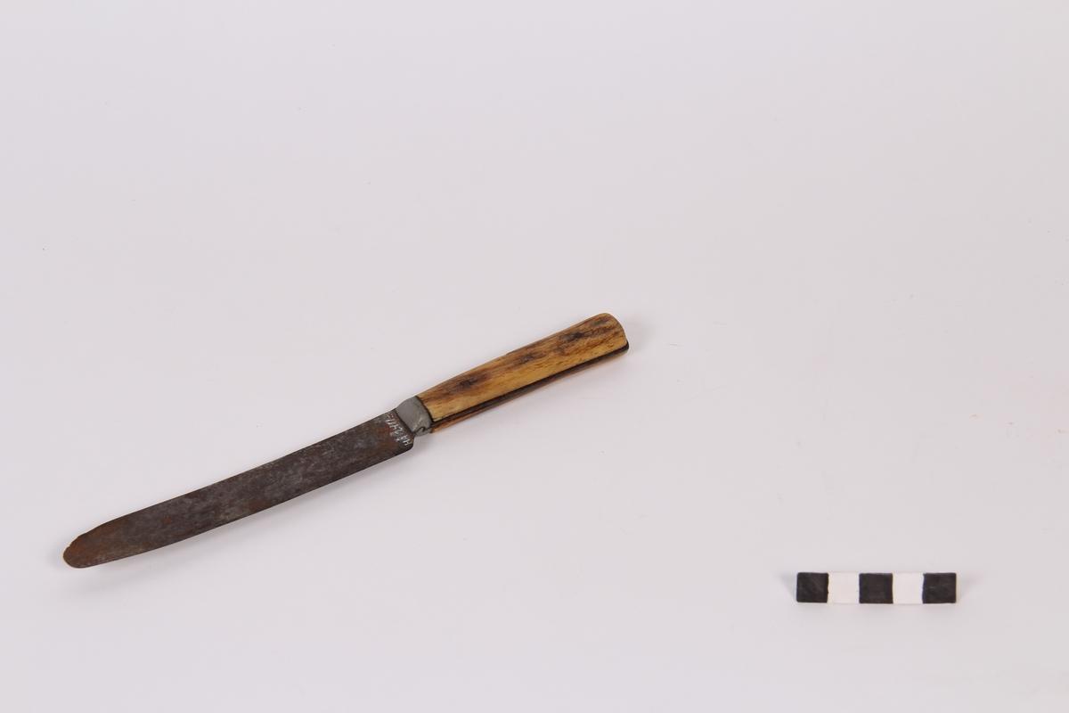 Spisekniv fra Sheffield, England