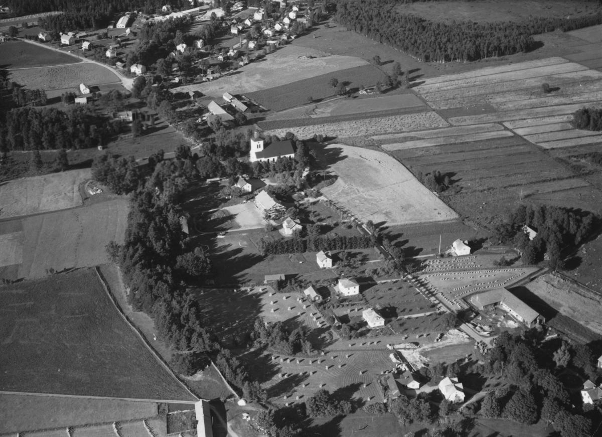 Flygfoto över Björköby i Vetlanda kommun. Nr. M. 999