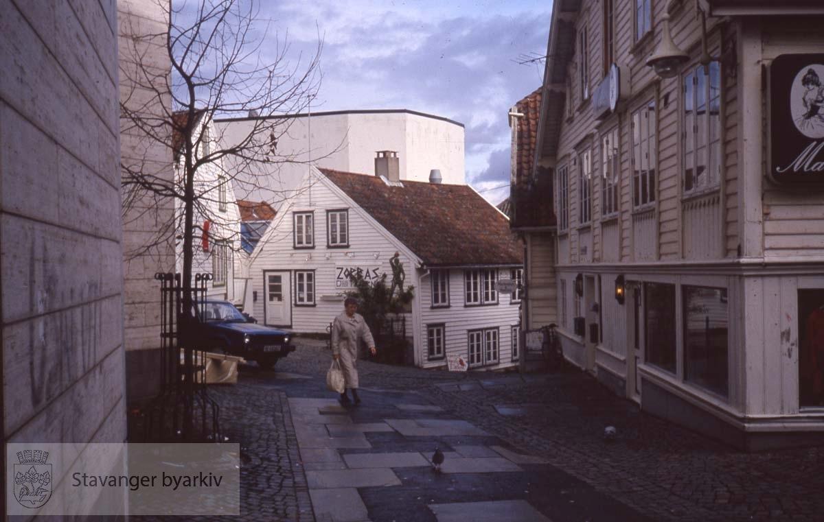 Sølvberggata mot nordøst. Til venstre Kulturhuset.