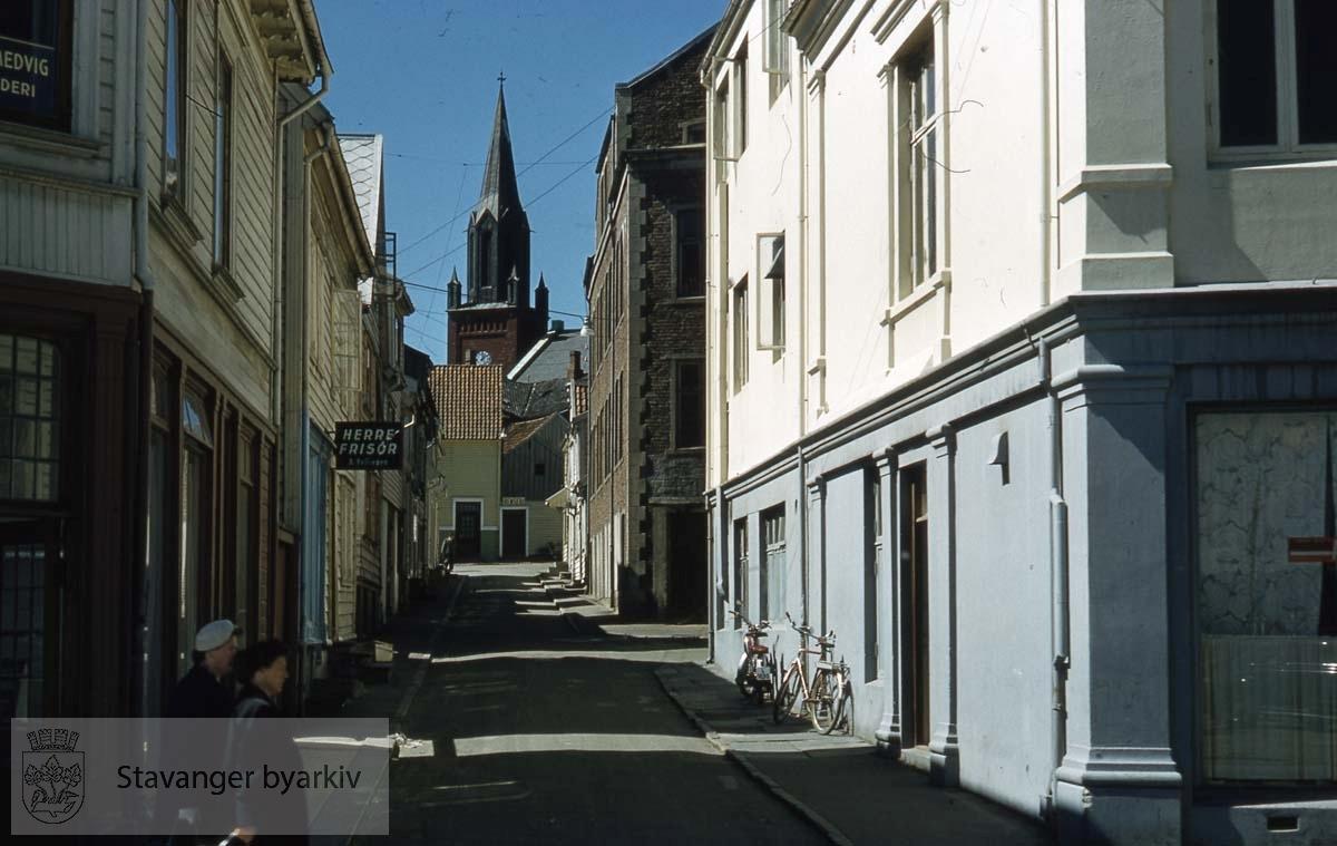 St. Petri kirke sett fra Almenningsgata