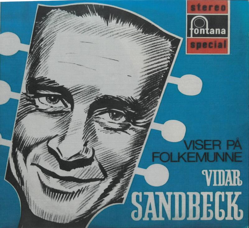 LP-cover Viser på folkemunne Vidar Sandbeck