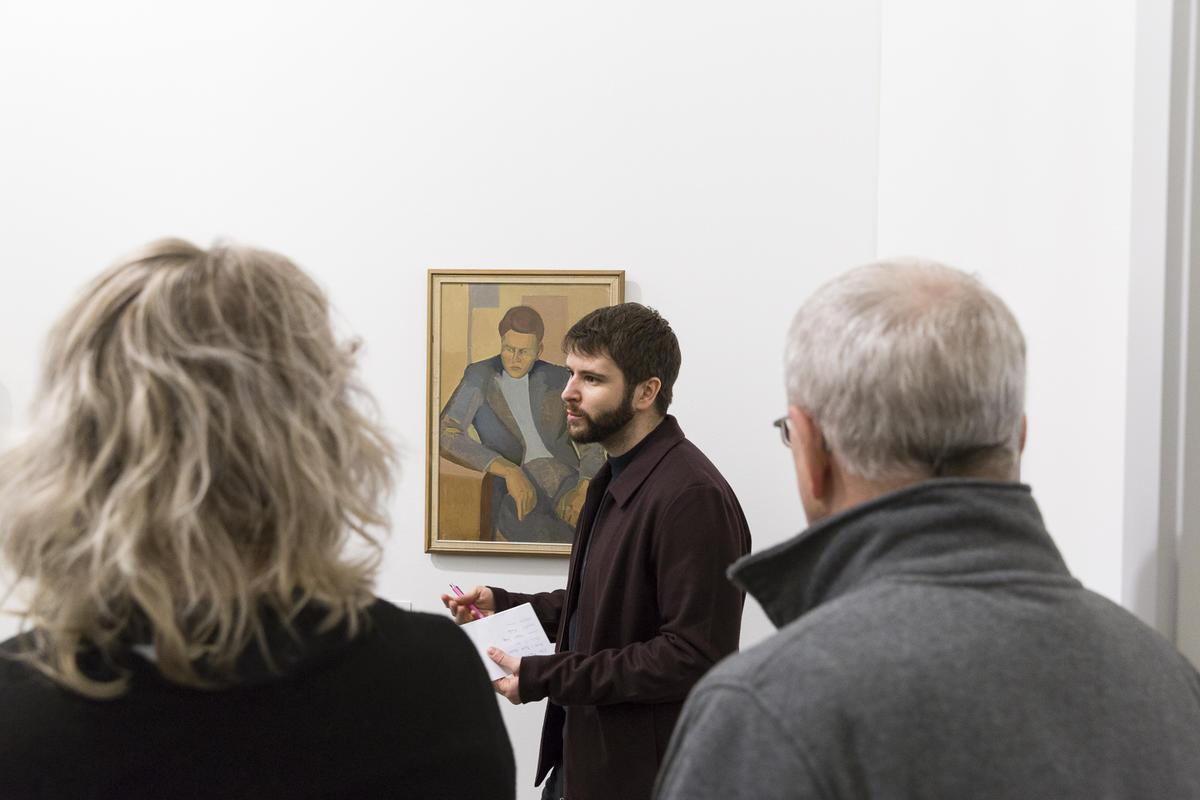 Bilder fra åpningen 23. mars 2019. Omvisning og førvisning med TKM Kunstklubb. Foto: Christina Undrum Andersen / TKM. (Foto/Photo)
