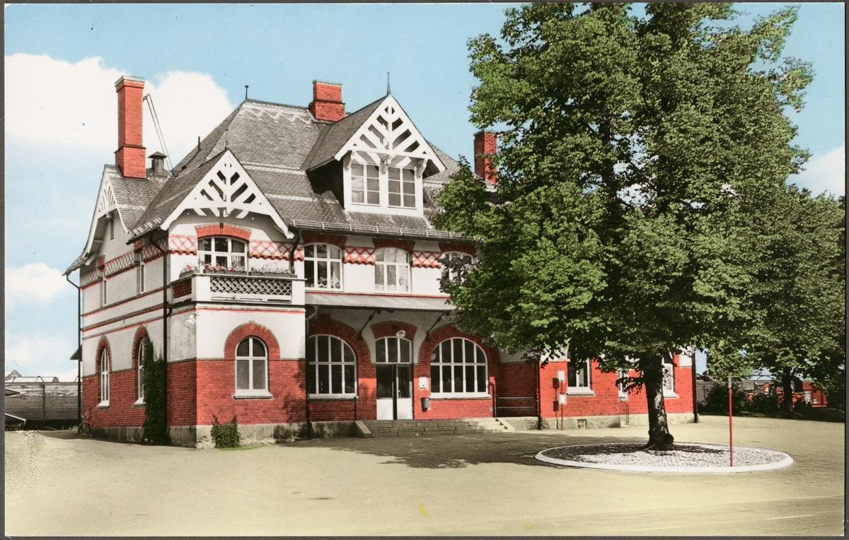 Skinnskatteberg stationshus.