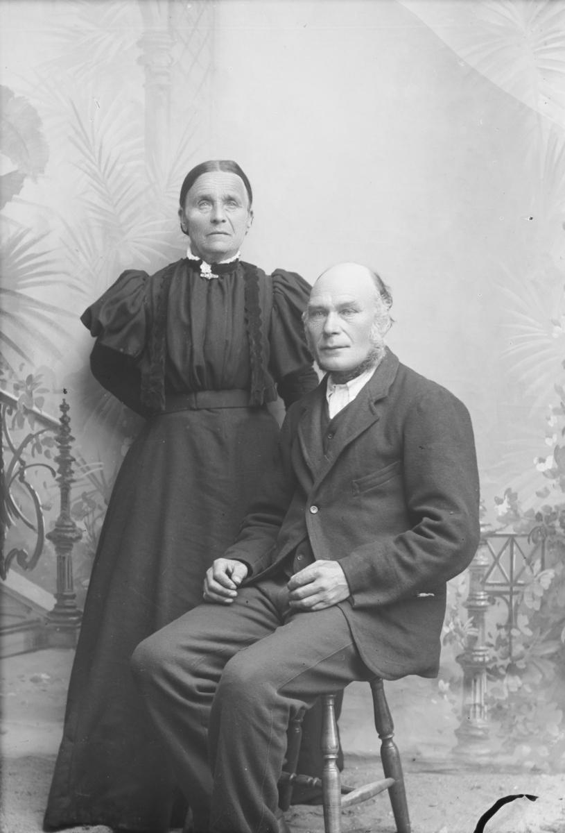 H.P. Stordal med kone