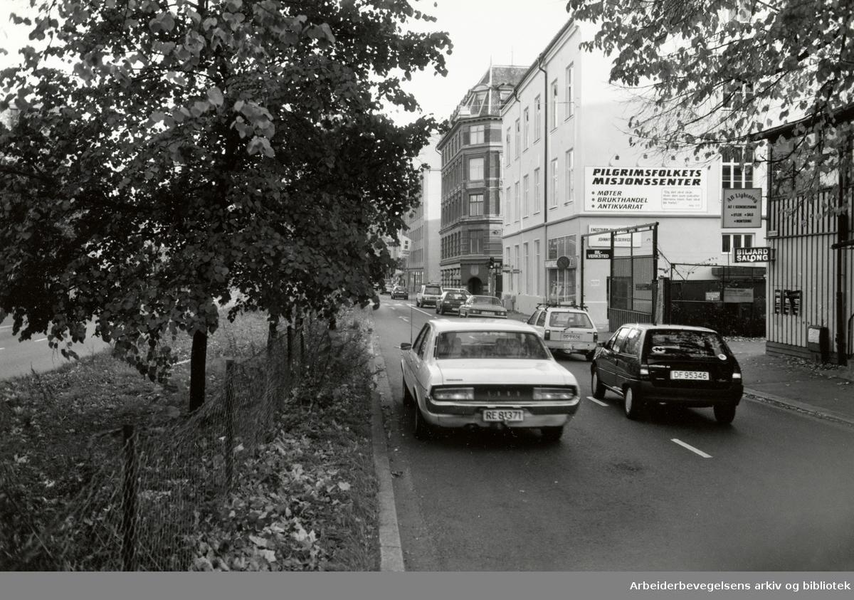Hausmanns gate. Oktober 1992