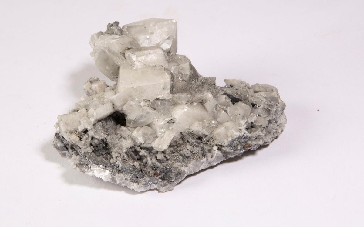 Krystaller av kalsitt Mildigkeit Gottes gruve, 140 m.