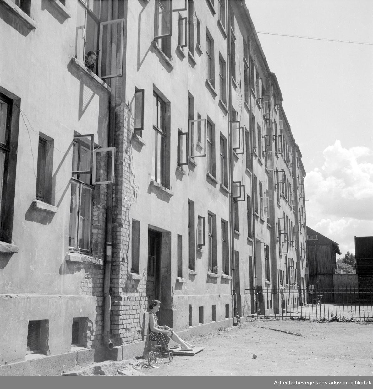 Østerdalsgata 6. Juli 1954