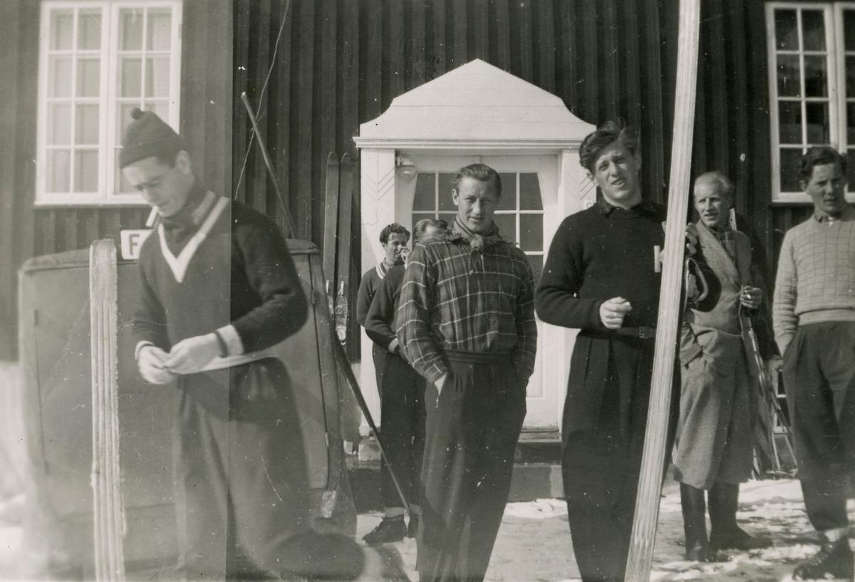 Fra Norges Skiforbunds leir på Geilo