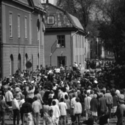I Arboga firas 550-årsminnet av Sveriges första riksdag. Kun