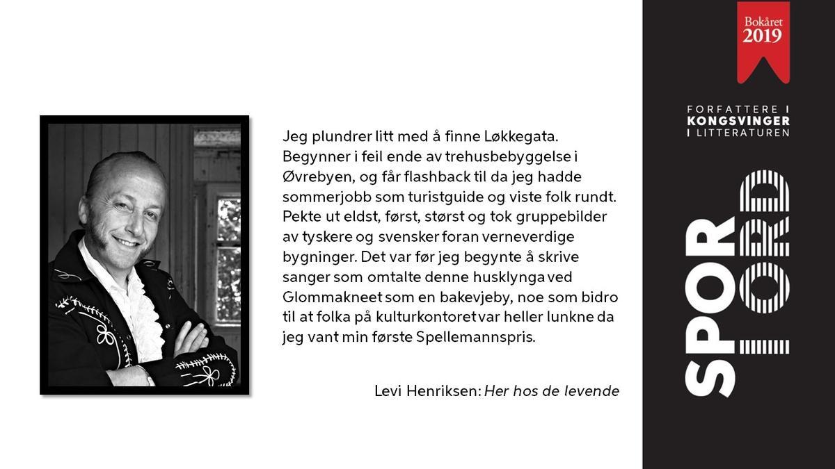 SPOR I ORD Levi Henriksen