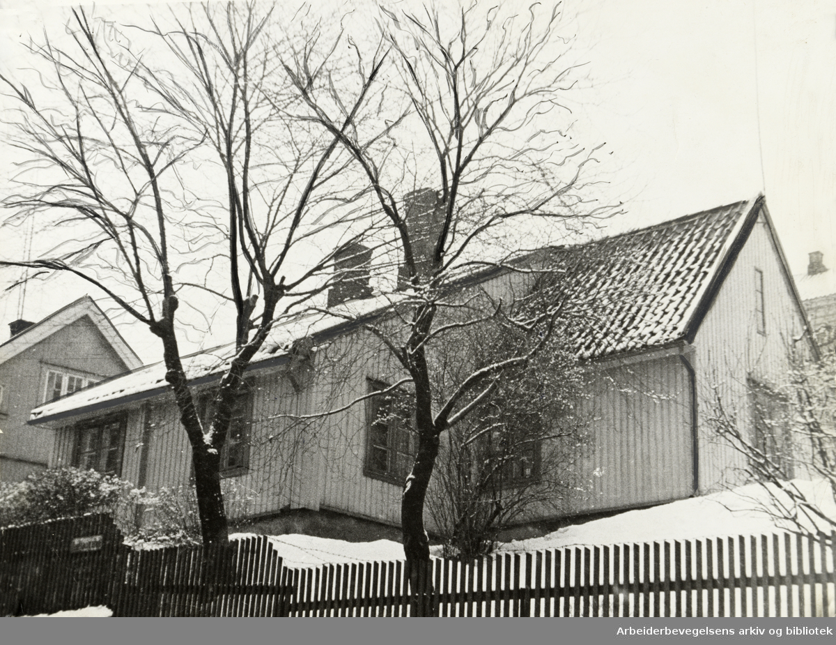 Kampen. Januar 1939