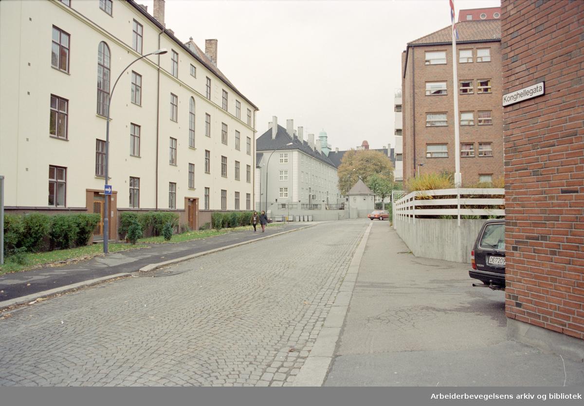 Oslo: Konghellegata. 22. oktober 1995