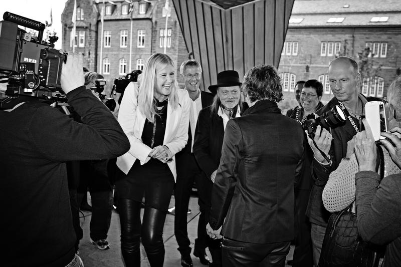 Anne Grete Preus fra innlemmelsen i Rockheim Hall of Fame i 2013. Foto: Rockheim.