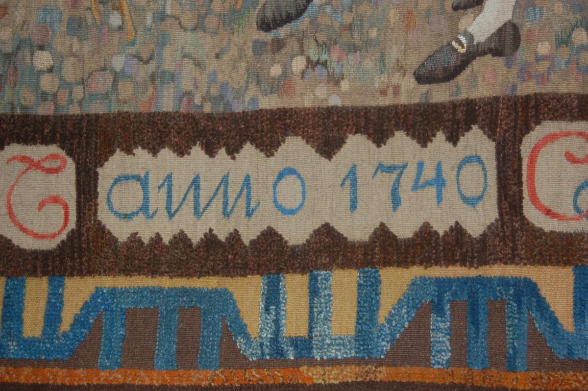 Fisketorvet i Christiania anno 1740