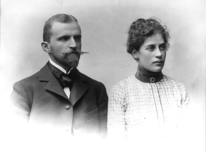 Hans og Emma Aall (Foto/Photo)