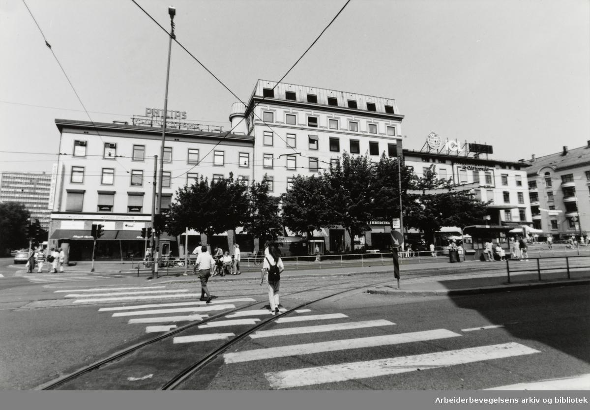 Majorstua. Majorstuhuset. Juli 1994