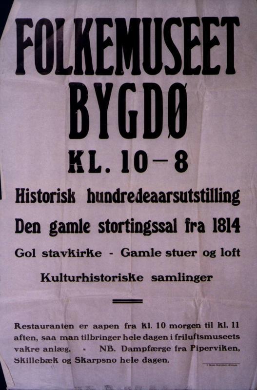 Plakat 1914 (Foto/Photo)