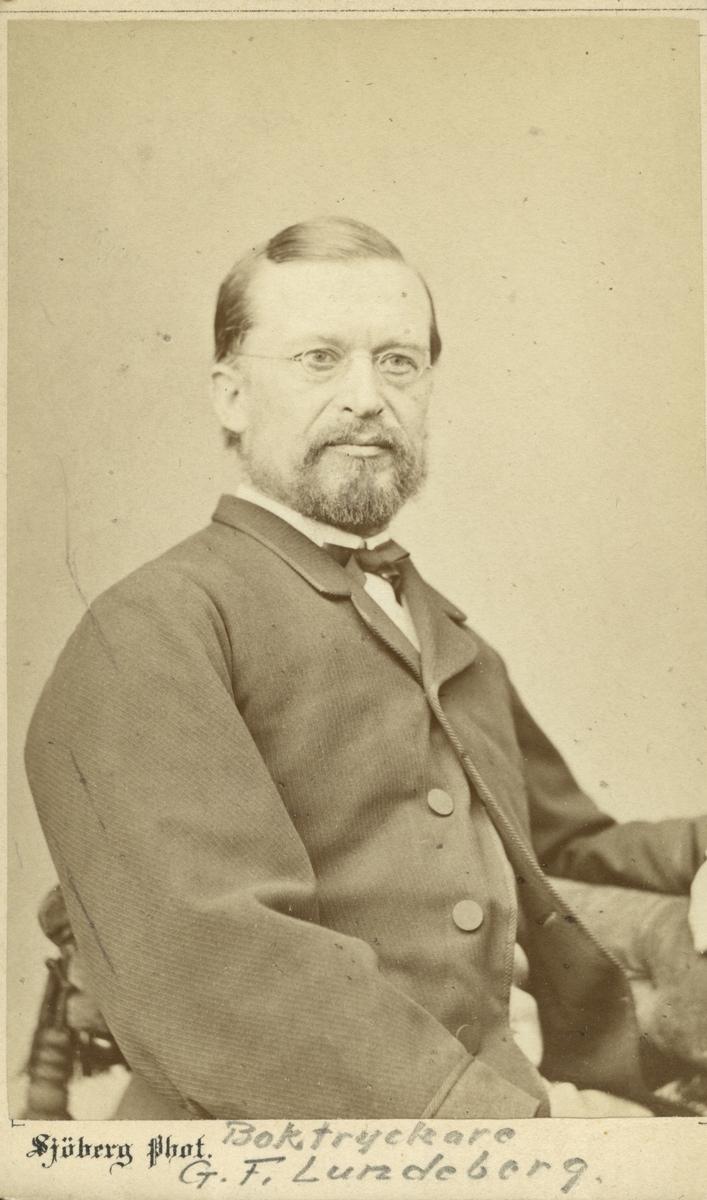 Boktryckare G. F. Lundeberg.