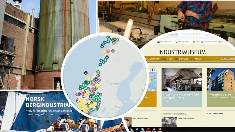 Illustrasjon: Industri og bedriftsarkiv i fokus