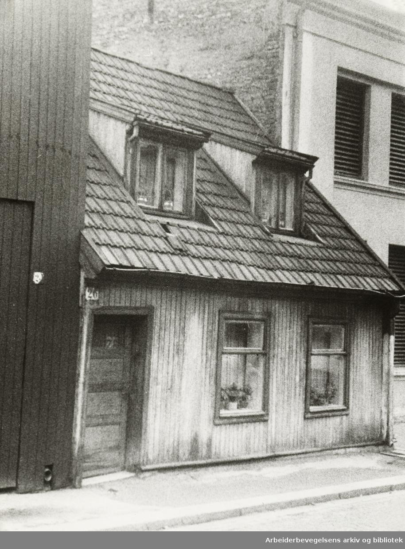 Nordbygata. Oktober 1946