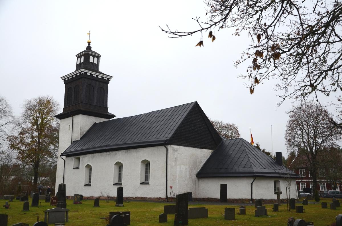 Exteriör, Bälaryds kyrka, Aneby kommun.