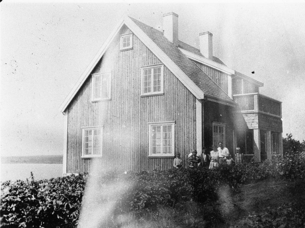 Hauen (Hauabakken), huset til Bergljot og Ole Gabriel Kverneland. Det var bygd i 1926.