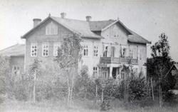 Halmstad Vattenkuranstalten på 1870-talet.