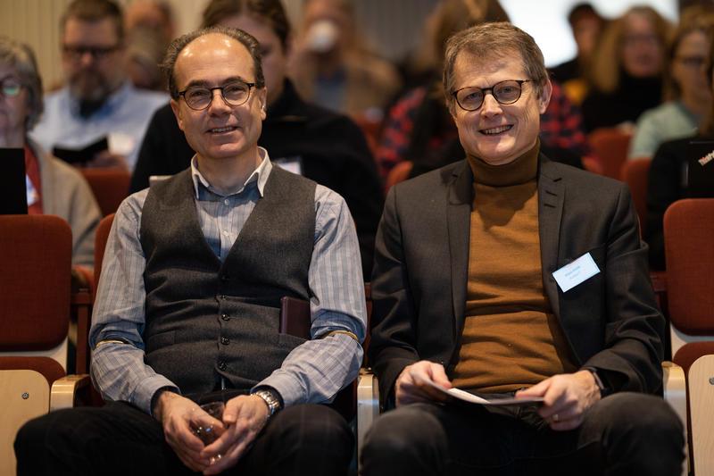 Bilde av Nils Weinander og Hans Höök. Bilde tatt av Ulf Bodin. (Foto/Photo)