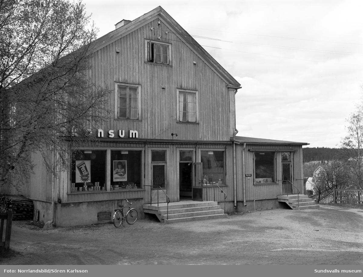 Konsumbutik vid Majorsgatan 12, Östermalm.
