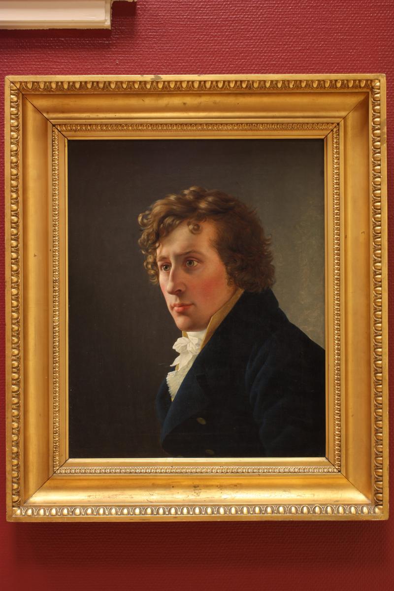 Christoffer Wilhelm Eckersberg, Portrett av professor I.C. Dahl, 1898.