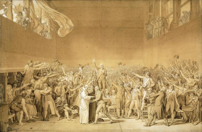 Et folkeopprør i en sal (Foto/Photo)
