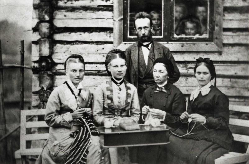 Kviteseid i Telemark, 1878 (Foto/Photo)