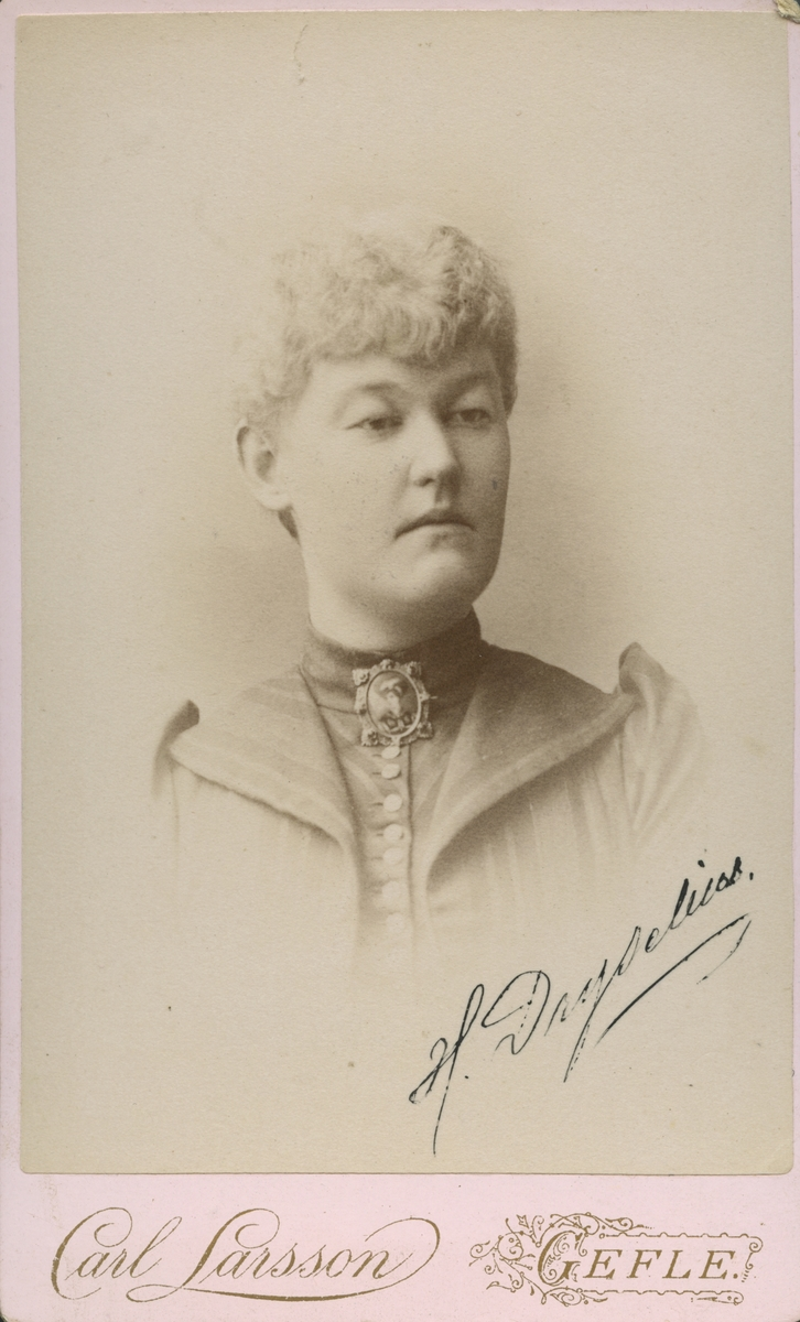 Fröken Hilda Dryselius.