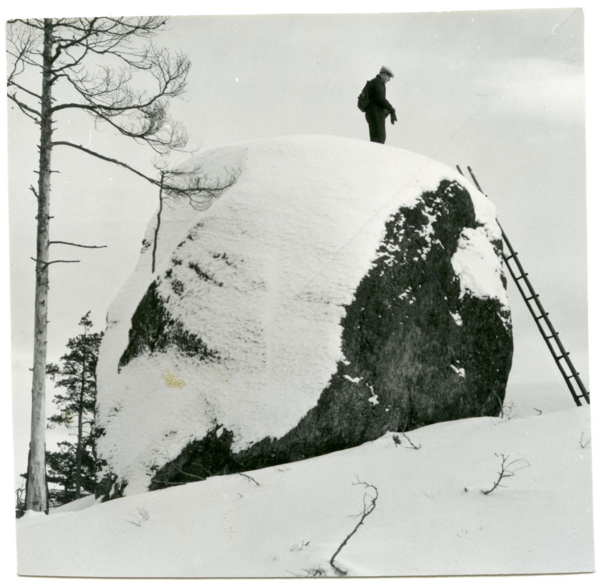 Skinnskatteberg sn, Skinnskattebergs kn, Riddarhyttan. Stor-Kari sten.