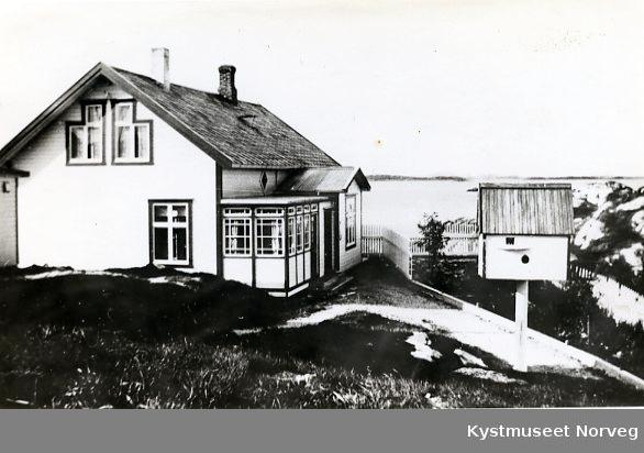 Rørvik, bolighus på Fåhøva i Kvaløya