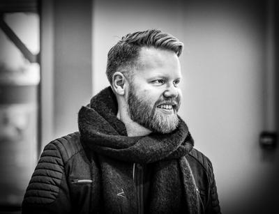 Portrett av Kim Rysstad. Foto/Photo