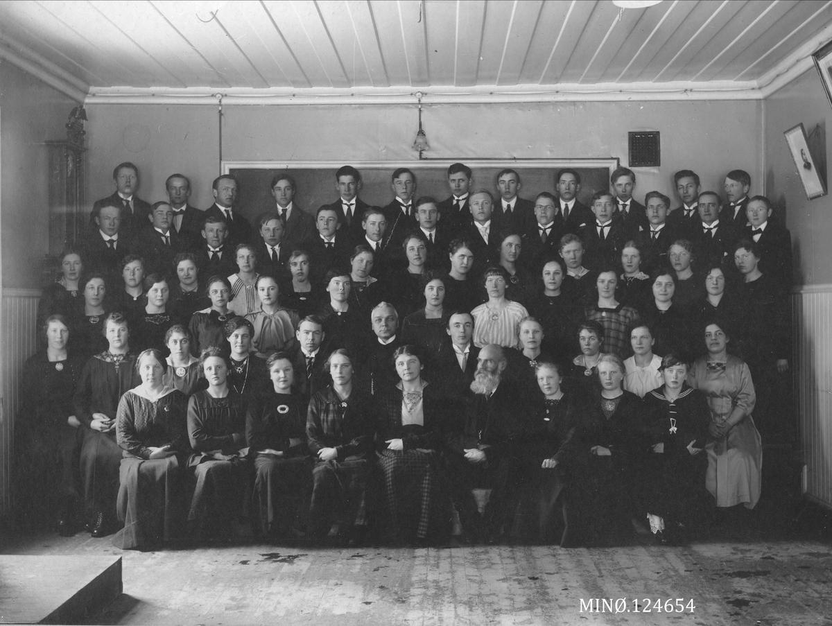 Tynset Folkehøgskole 1918-19