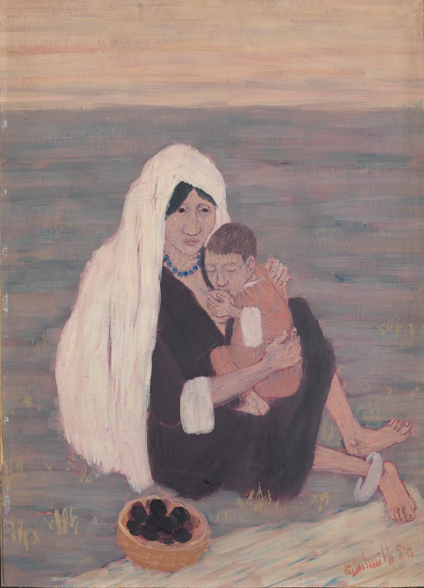 Madonna fra Kashmir [Maleri]
