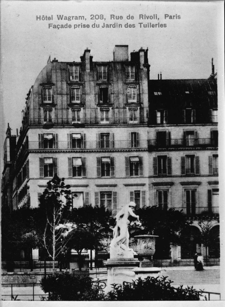 Paris, hotell, Wagram,