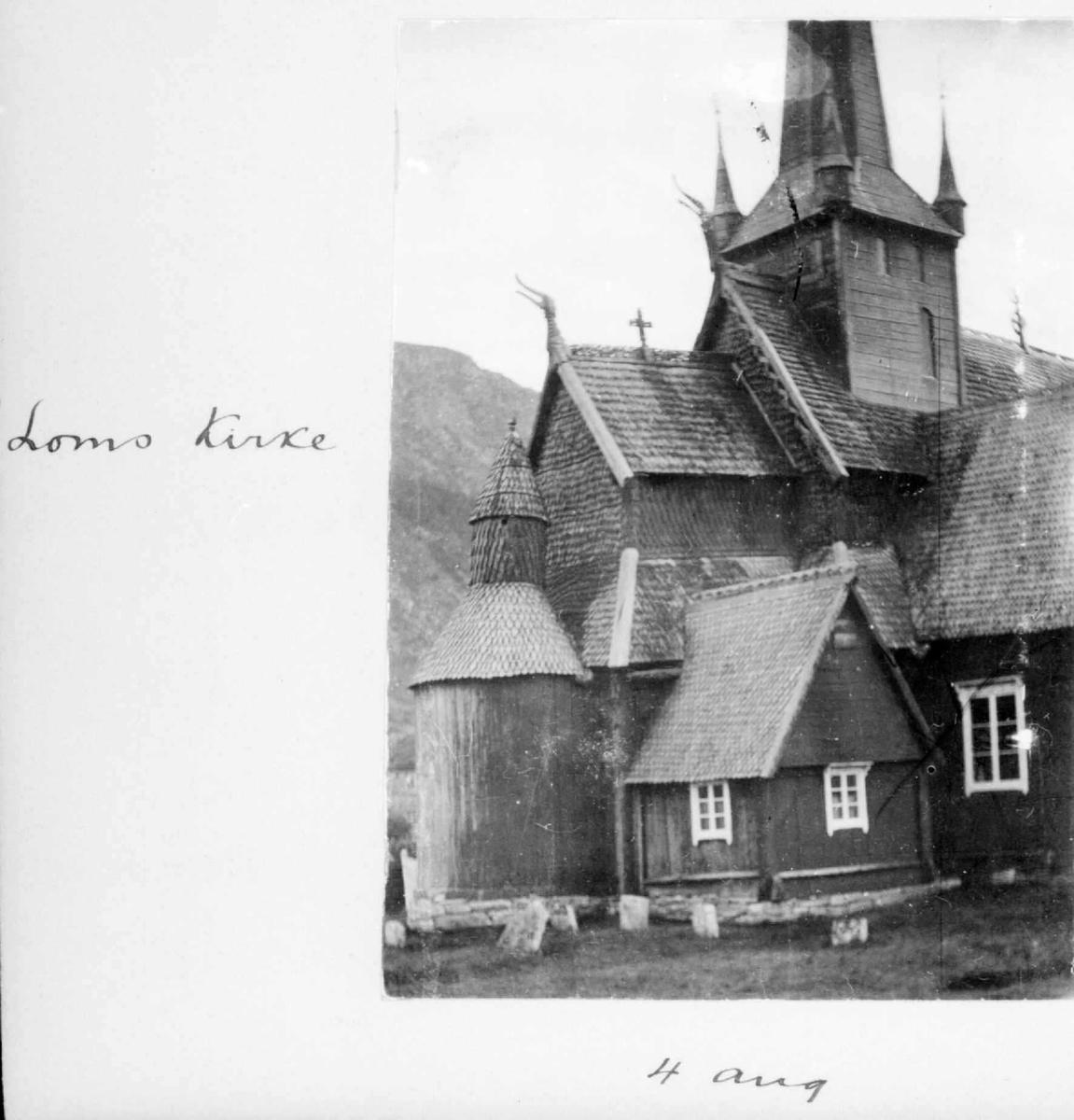 Album, Lom kirke, stavkirke,