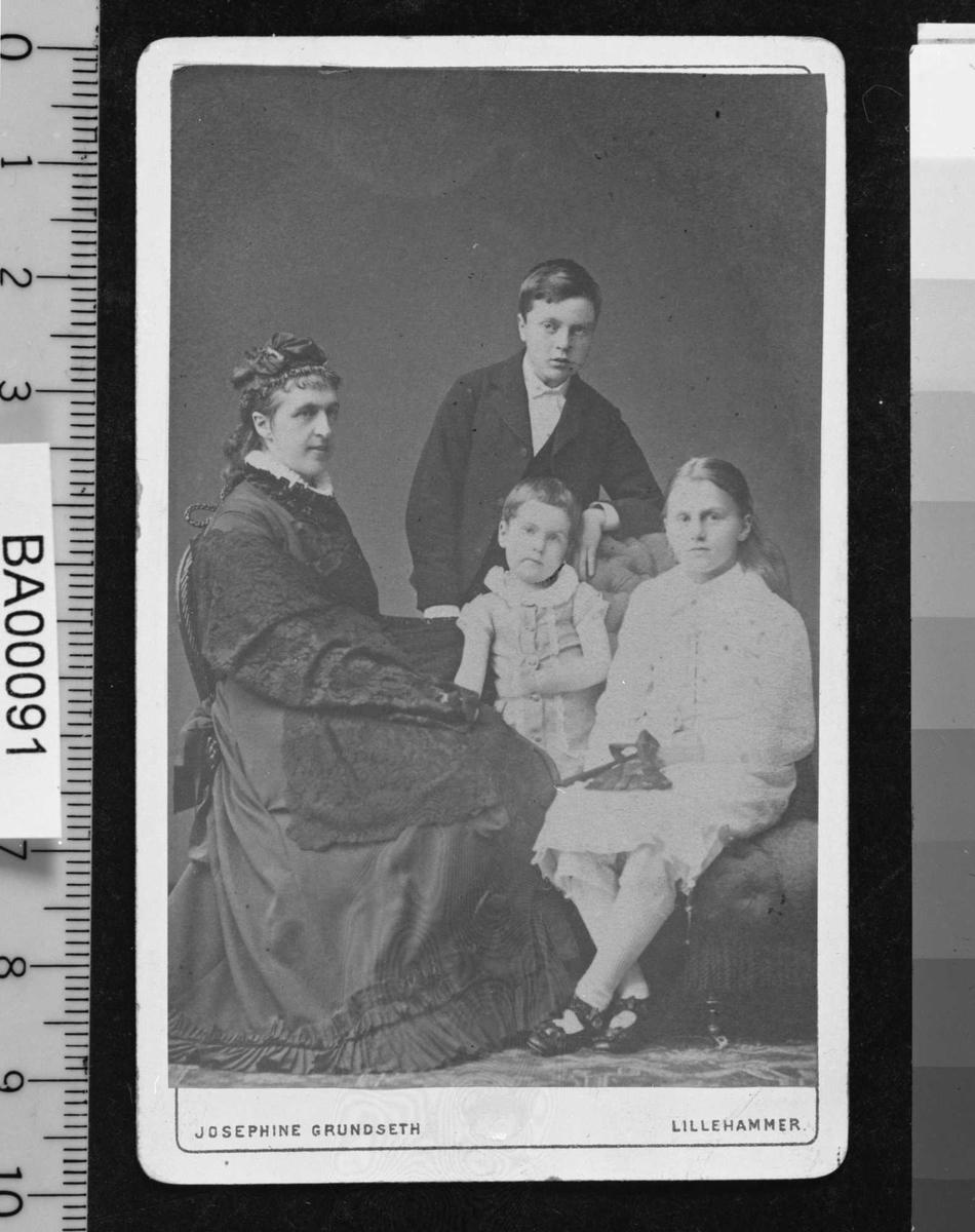 Bjørnson, familie, Lillehammer,