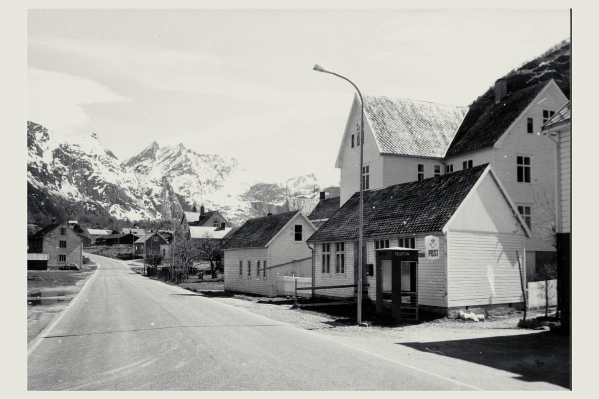 eksteriør, postkontor, Veblungsnes