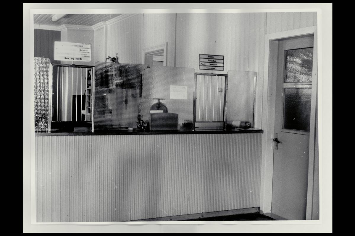 interiør, postkontor, 8310 Kabelvåg, publikumshall