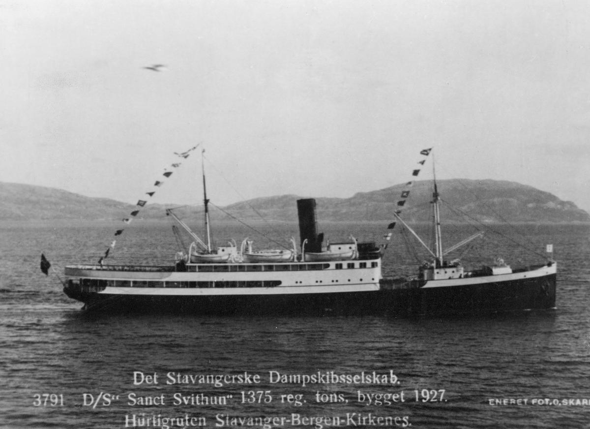 transport båt, eksteriør, Sanct Svithun, Stavanger-Bergen-Kirkenes
