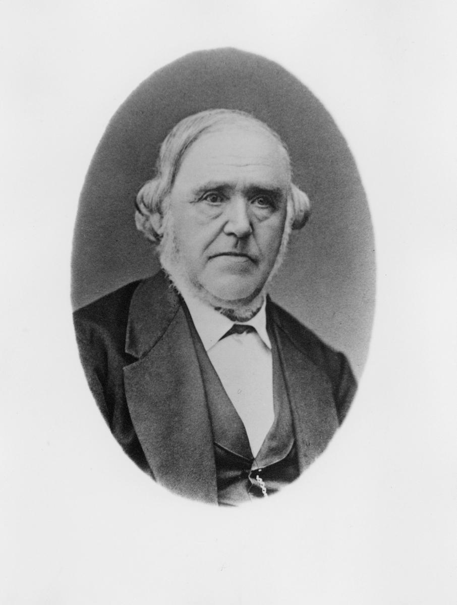 portrett, postmester, Andersen Halvor